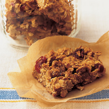 Oat and Dried-Fruit Bars