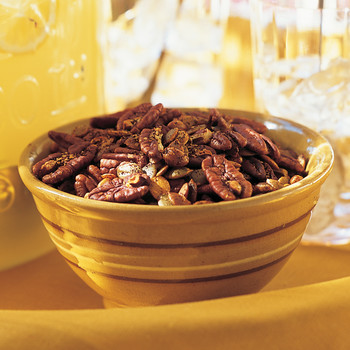 Spiced Pecans and Pepitas