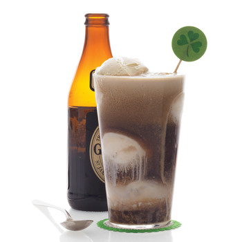 This Beer-Ice Cream Float Is the Easiest St. Patrick's Day Dessert