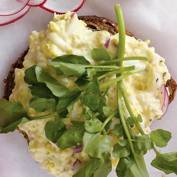 Egg Salad with Chutney Mayonnaise