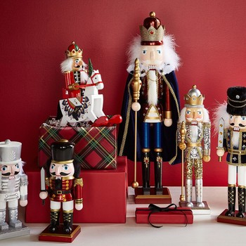 group of nutcrackers