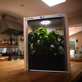 This Countertop Nanofarm is About to Grow All Your Vegetables for You