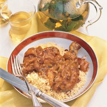 Chicken and Apricot Stew with Couscous