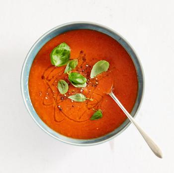 罗勒番茄汤