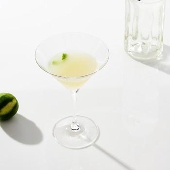 vodka gimlet in glass