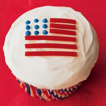 flage cupcake kids