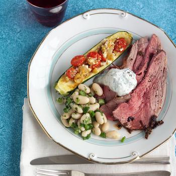 Roasted Lamb with Garlic and Oregano