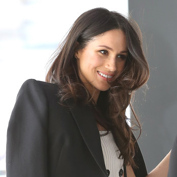 Meghan Markle at an event in April 2018.
