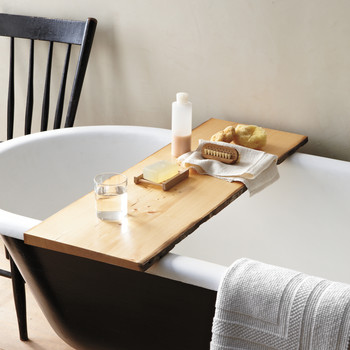 Wooden Tub Tray