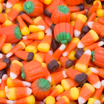 Candy Corn in a Pile