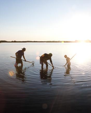 A Rhode Island Clam Dig