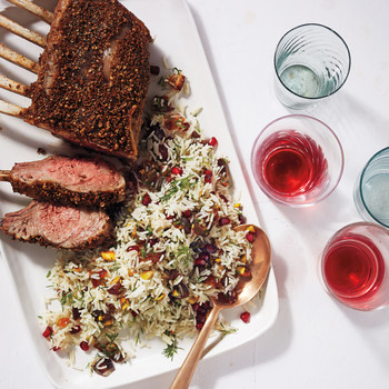 Spice-Rubbed Rack of Lamb