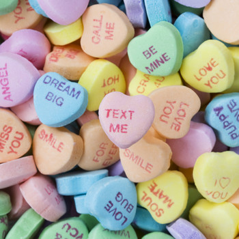 Here's Why You Won't See Conversation Hearts on Store Shelves This Valentine's Day
