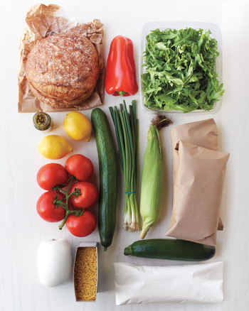grocery bag your weekly meal planner martha stewart