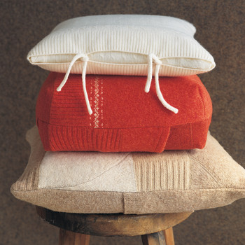 Felted Pillow Covers