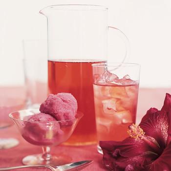 Hibiscus Sorbet