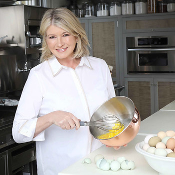 Watch Martha Decorate Rainbow Cookies to Support Military Families