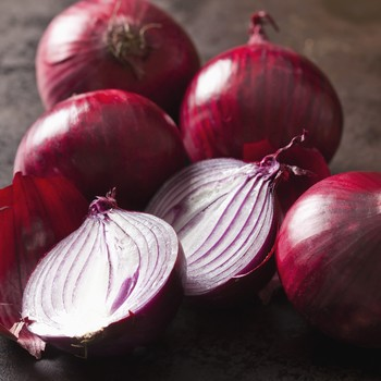 five red onions