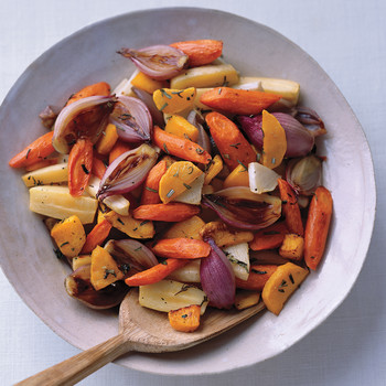 Colorful Roasted Vegetables