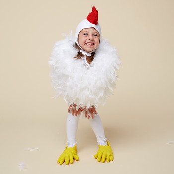 chicken halloween costume girl