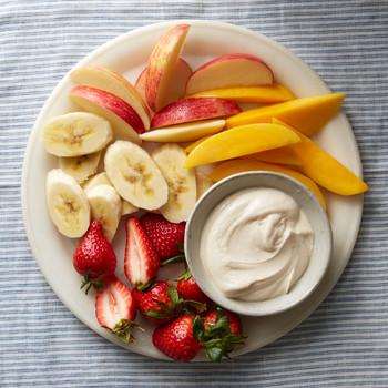 Tahini Fruit Dip