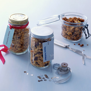 Honey-Maple Granola