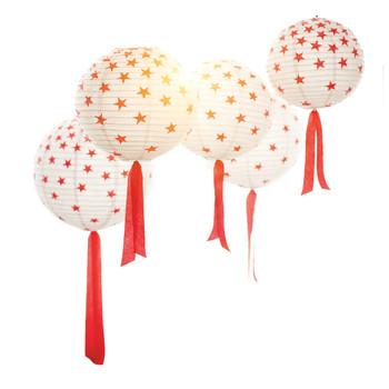 July 4th Paper Lanterns