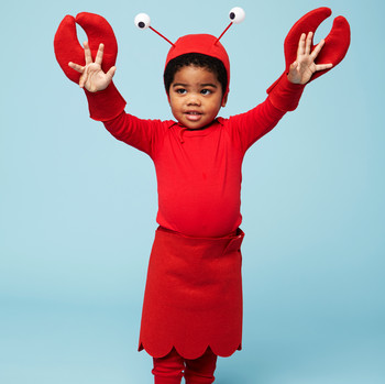 lobster halloween kids costume