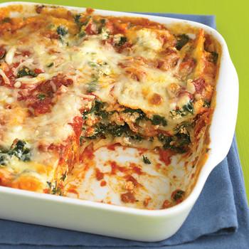 Spinach and Prosciutto Lasagna