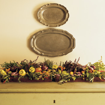 Harvest Vegetable Arrangement