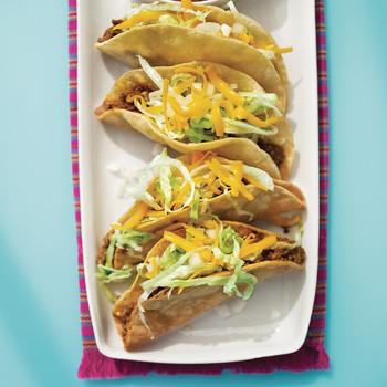 Crispy Tacos Picadillo