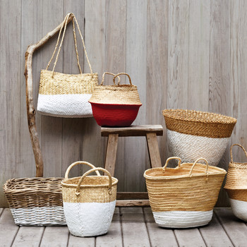 Dip-Dyed Baskets