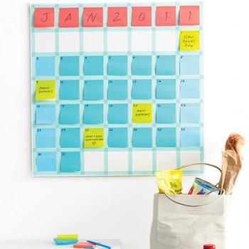 Stickie Note Calendar