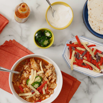 Watch: Slow-Cooked Tex-Mex Chicken and Beans
