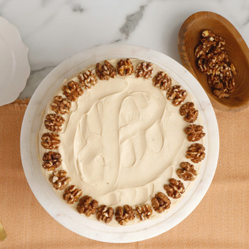 Watch: Maple Walnut Cake with Brown-Sugar Frosting