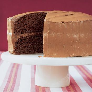 Velvet Cocoa Cake with Instant Buttercream