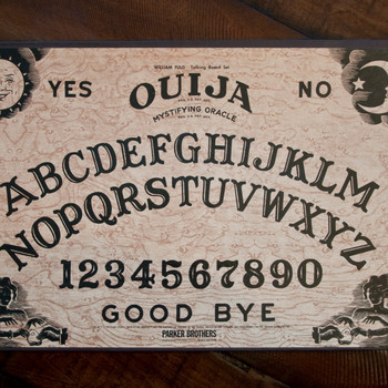 Ouija Board on a Table