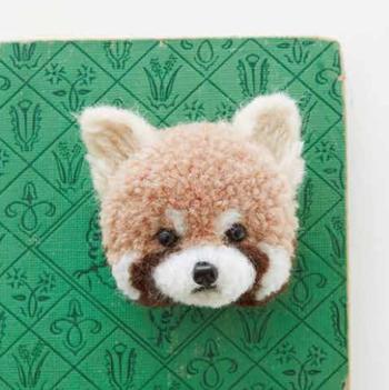 pom-pom red panda