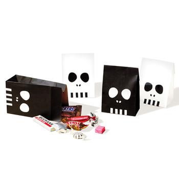Spooky Skull Treat Bags