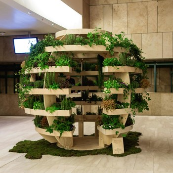 sphere plant room