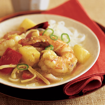 Thai Green Shrimp Curry