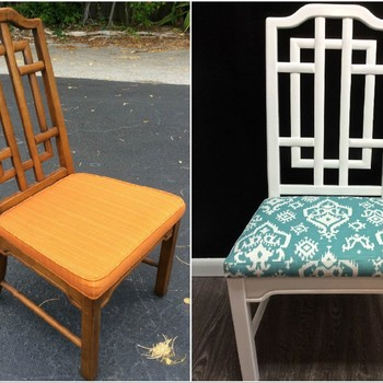 How to Reupholster a Chair and Make It Look Brand New