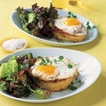 Fried-Egg-Topped Sandwiches