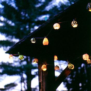 Decorative Hanging Gourd Lights