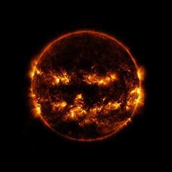 Halloween Sun image scary spooky