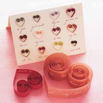 Quilled Valentines and Cards