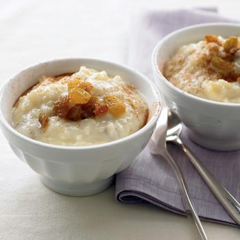 Lightened Rice Pudding