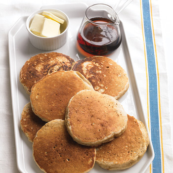 Oatmeal Pancakes with Cinnamon
