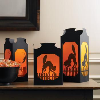 Vellum Halloween Table Lanterns
