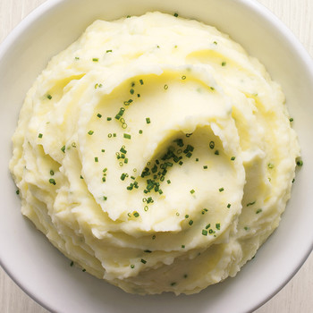 Garlic-and-Chive Mashed Potatoes